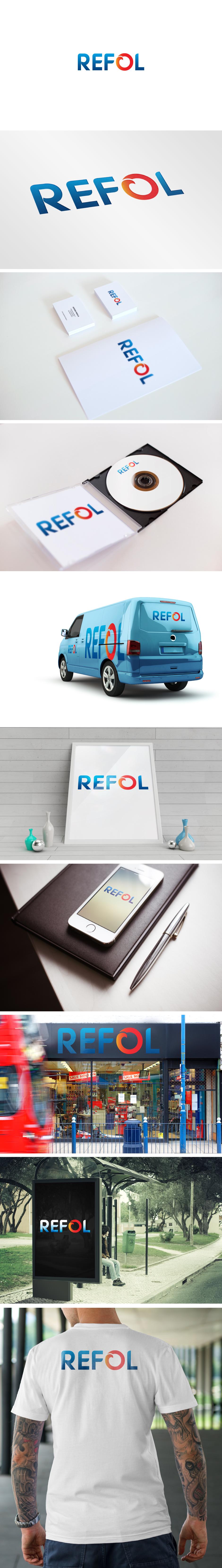 Изготовление фирменного стиля компании REFOL